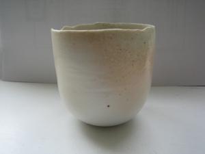 Wood blush egg bowl