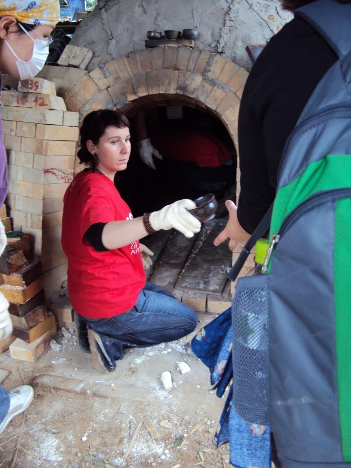 Unpacking the kiln