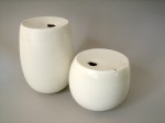 Elaine Bolt 'Milk Top' vessels
