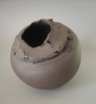 Elaine Bolt, 'Torn Terracotta' vessel