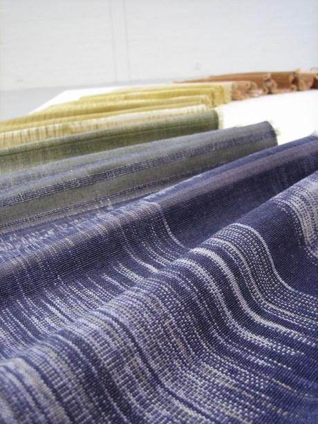 'Warp Ikat' textiles by Fon Supawinee Charungkiattikul