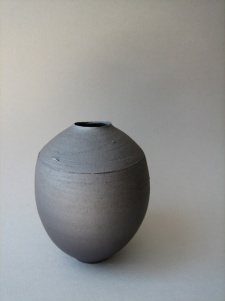 Elaine Bolt dark terracotta vessel