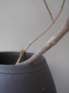 Elaine Bolt Terracotta vessel detail