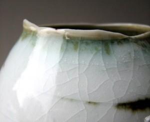 Elaine Bolt, 'Dwelling' vessel - detail