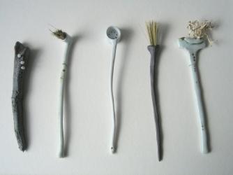 Elaine Bolt ceramics 'Curious Utensils'