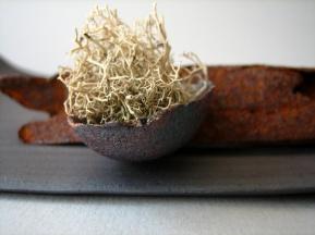 Elaine Bolt ceramic & mixed media object detail