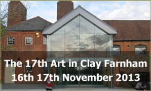 Art in Clay Farnham 2013