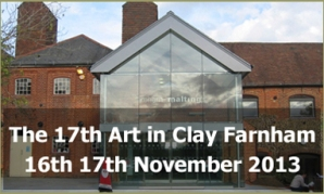 Art in Clay Farnham 2013