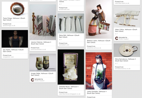 Hothouse 2014 Pintrest Screen shot 2