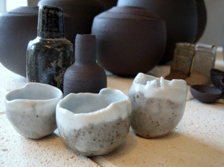 Elaine Bolt stoneware tests 2