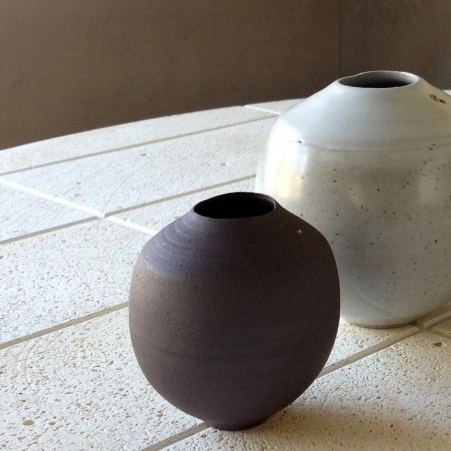 Elaine Bolt Stoneware and terracotta vessels