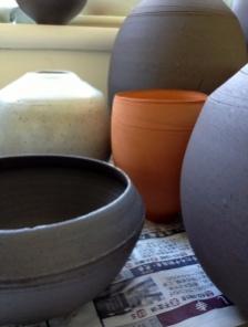 Elaine Bolt Stoneware and terracotta vessels
