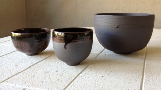 Elaine Bolt terracotta vessels