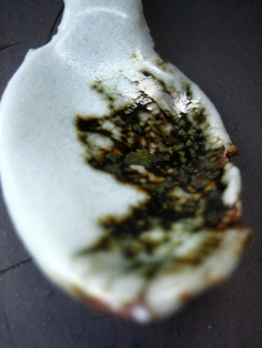 Elaine Bolt teaspoon - porcelain