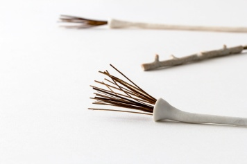 Elaine Bolt Ceramics, Woodland Utensils (Photography by Yeshen Venema)