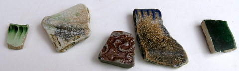 Various pottery sherds