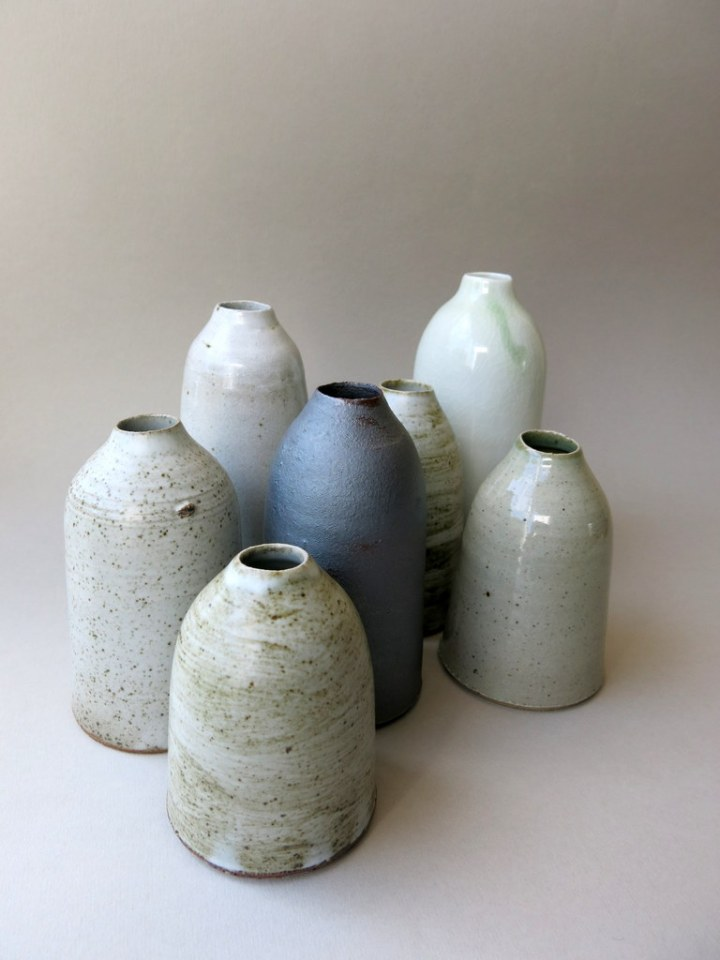 Elaine Bolt 'milk' bottles