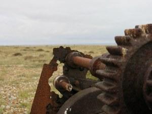 Dungeness, rusty machinery