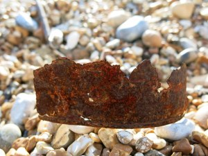 Dungeness, rusty 'crown'