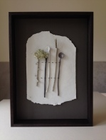 'On Paper' by Elaine Bolt - ceramic utensils