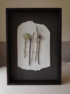 'On Paper' by Elaine Bolt - ceramic utensils