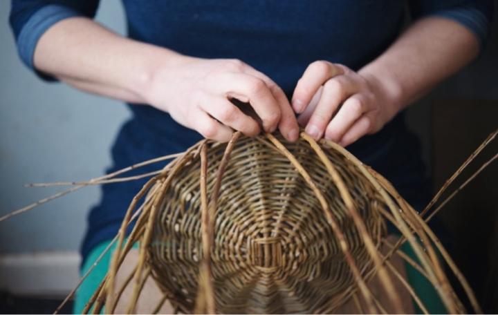 Annemarie O'Sullivan basket making