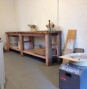 New studio space at Atelier 51