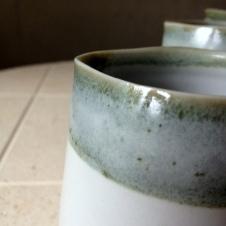 Lichen snow jug, Elaine Bolt