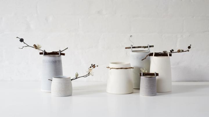 Elaine Bolt Ceramics Woodland Vessels image by Yeshen Venema