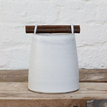 Elaine Bolt Ceramics, Chalk Willow Vessel