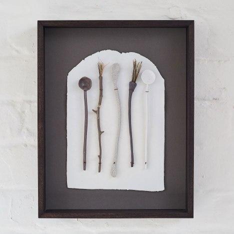 Elaine Bolt Ceramics, 'Paper Utensils' (photograph by Yeshen Venema)