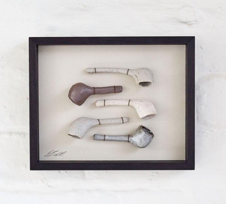 Elaine Bolt Ceramics, 'Five Pipes' (photograph by Yeshen Venema)