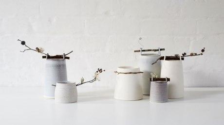 Elaine Bolt Ceramics Woodland Vessels (photography by Yeshen Venema)