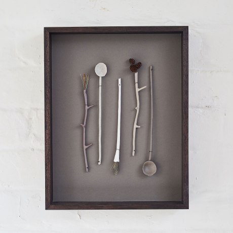 Elaine Bolt Ceramics, Woodland Utensils (photograph by Yeshen Venema)