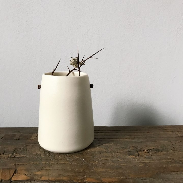 Elaine Bolt Ceramics, Woodland Thorns vessel