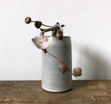 Elaine Bolt Ceramics, Woodland Flower vessel
