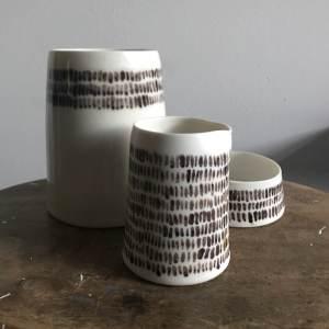 Elaine Bolt Ceramics - Warp and Weft vessels