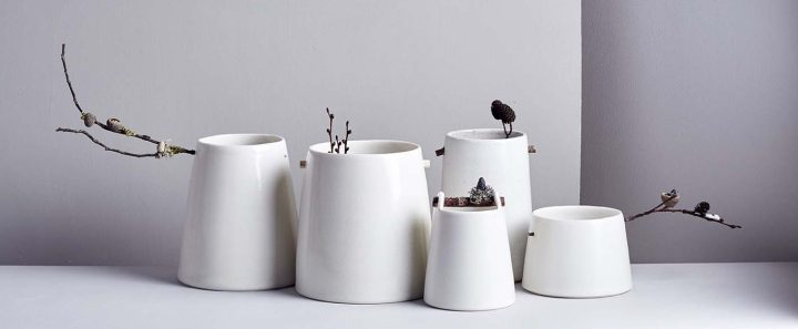 Woodland Vessels by Elaine Bolt
