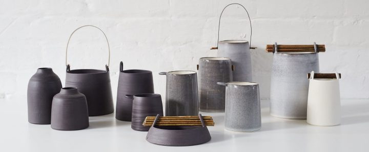 Wire and Willow Vessels by Elaine Bolt (photography by Yeshen Venema)
